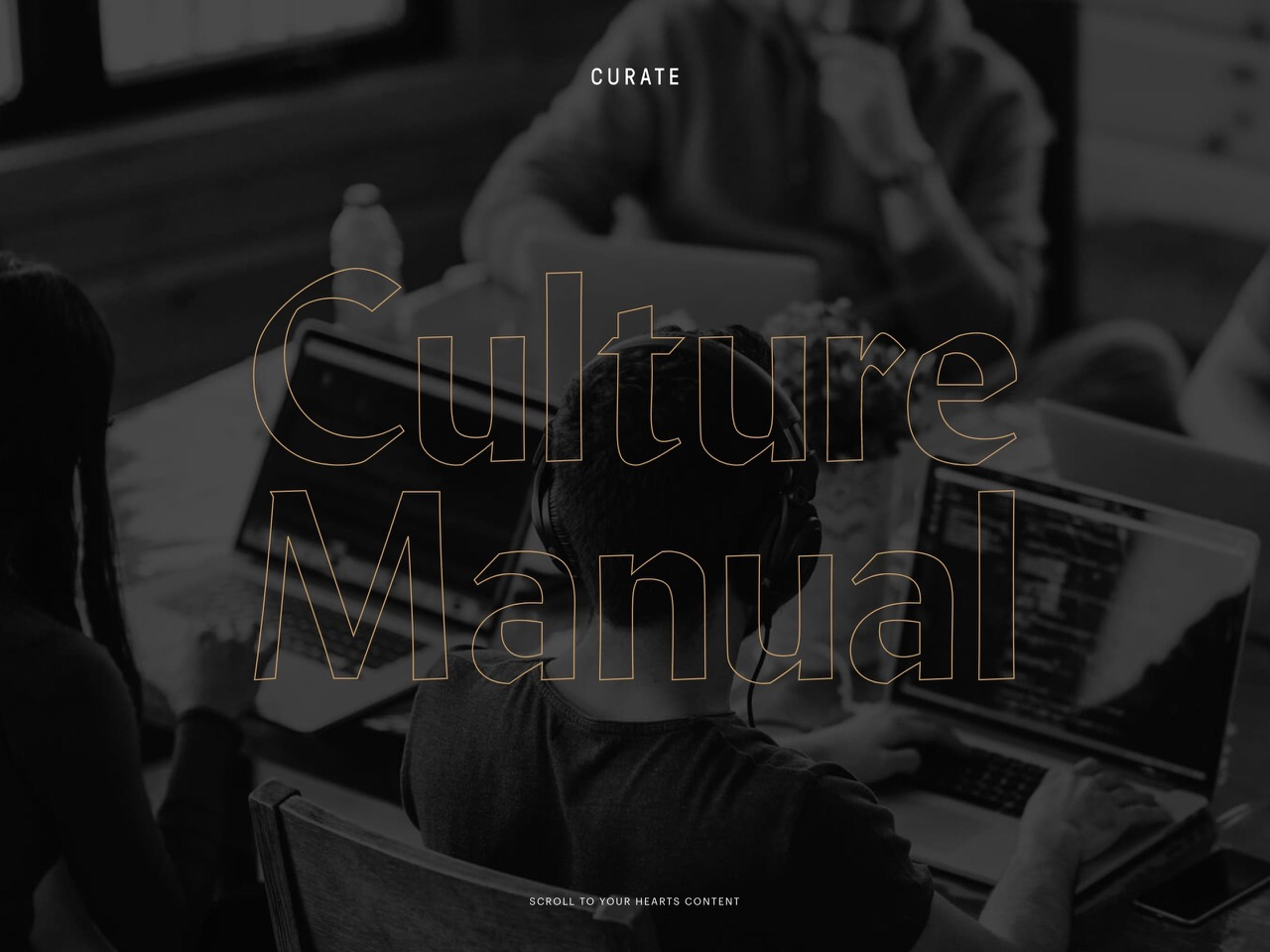 Culture manual by curate labs   magazine