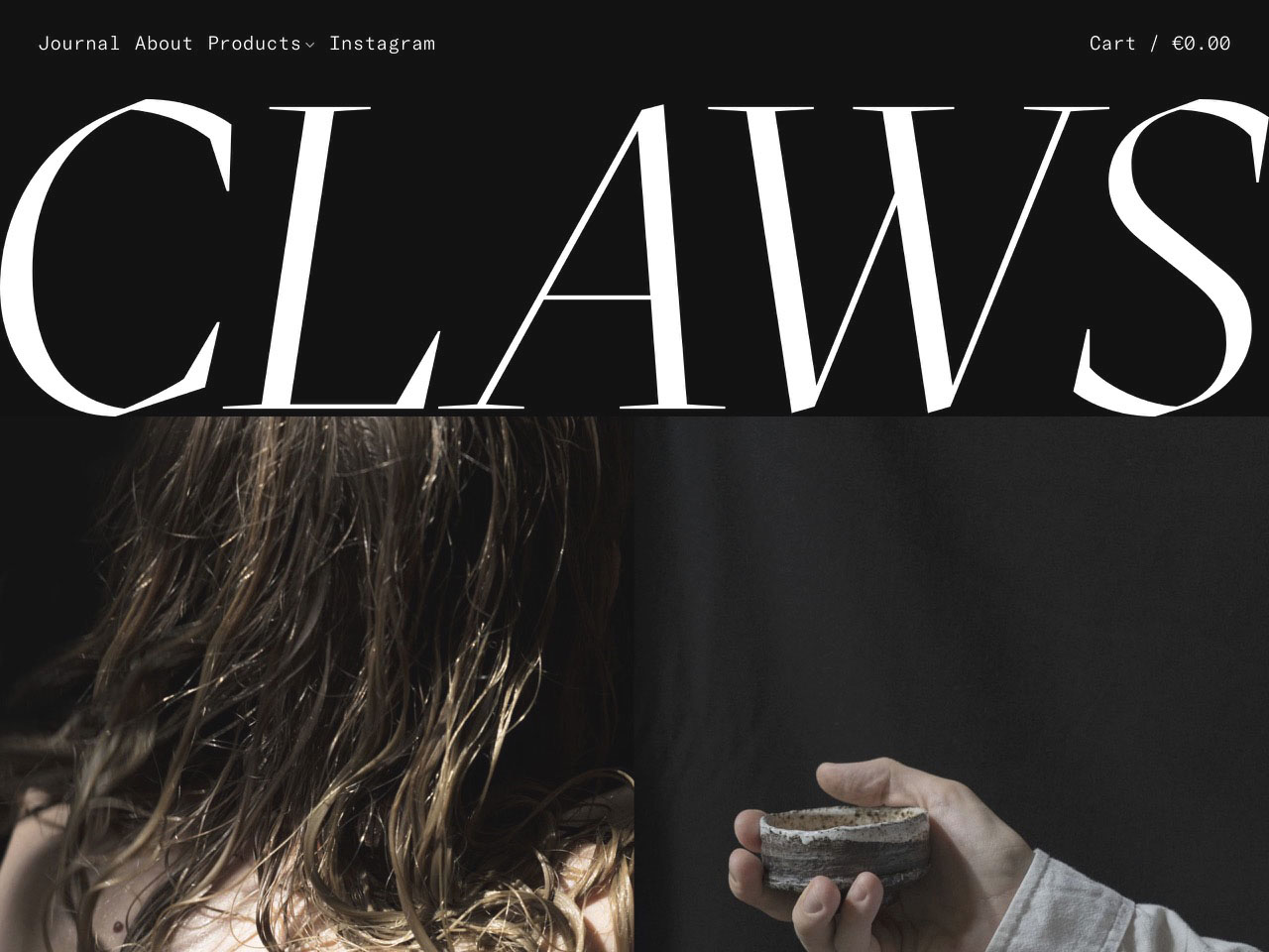 Claws   tea   objects