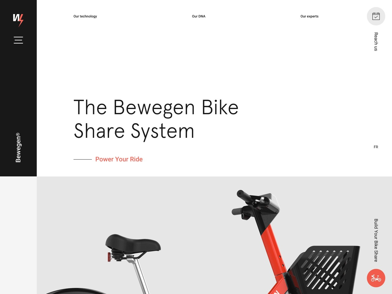The bewegen bike share system   power your ride