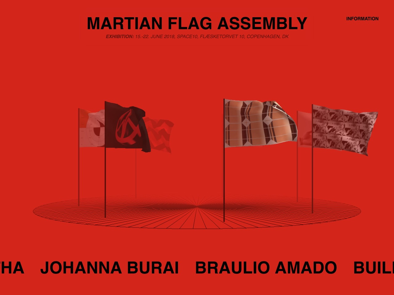 Martian flag assembly
