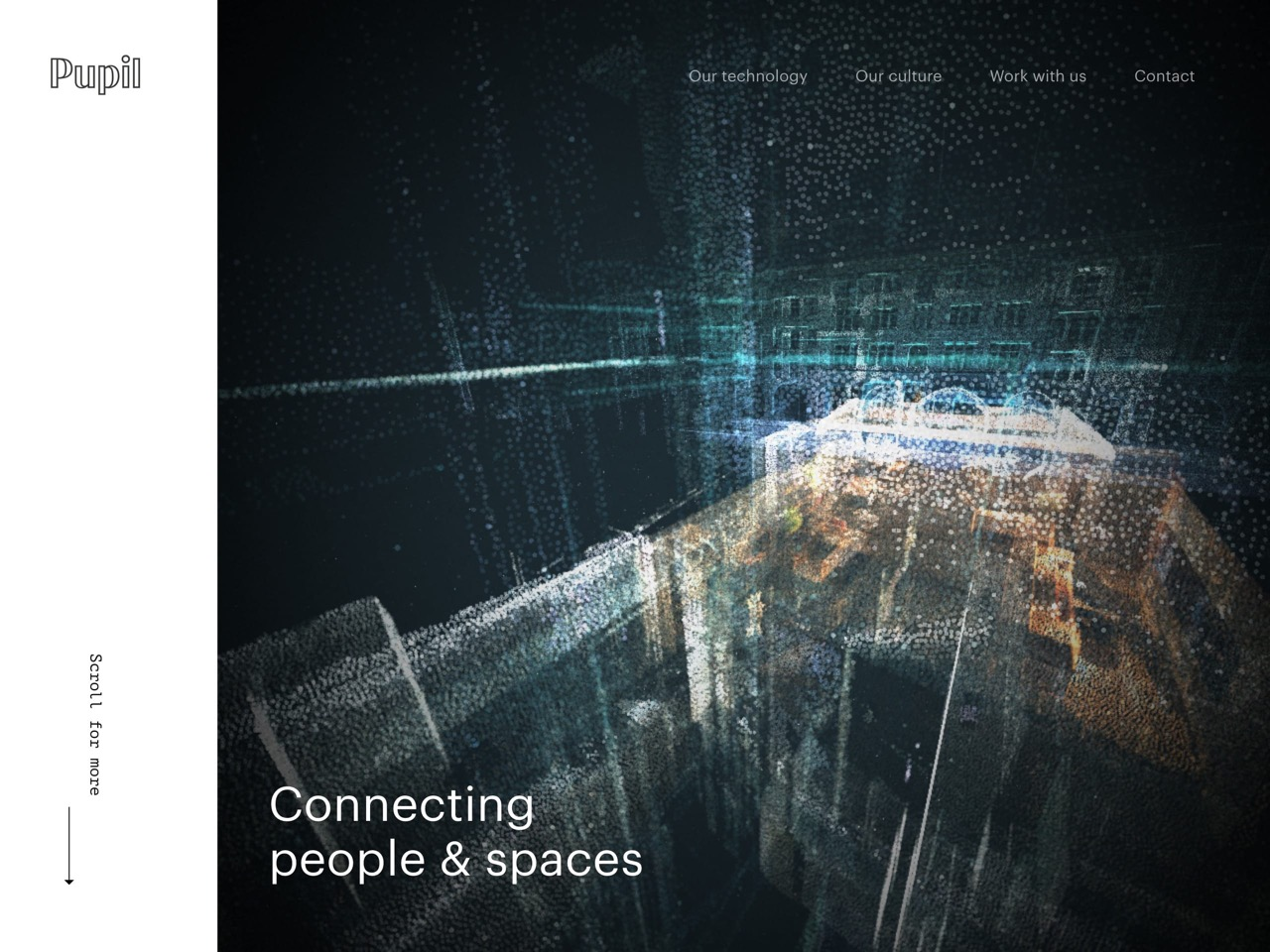 Pupil   connecting people and spaces