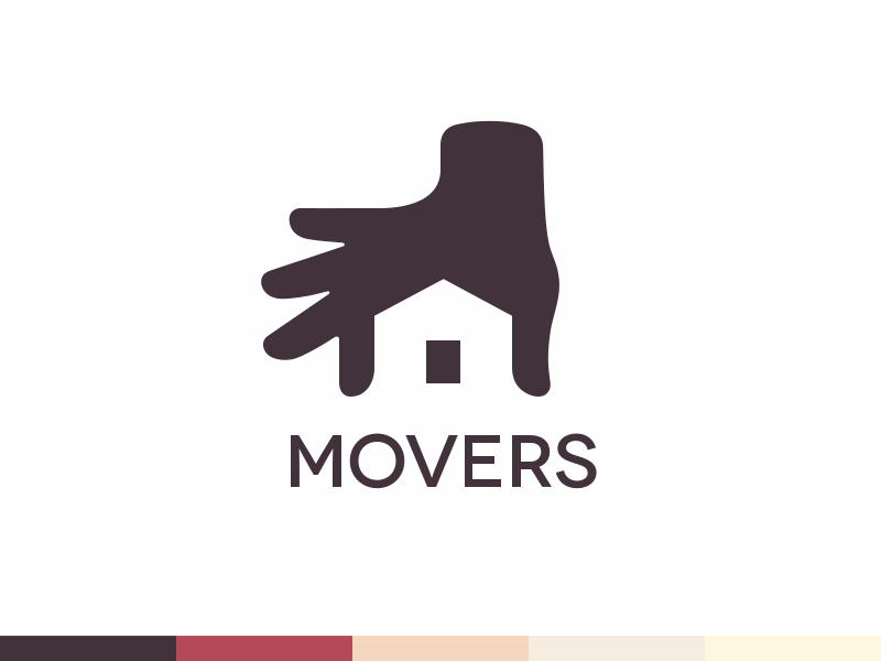 Movers logo design branding identity ramotion 2 2