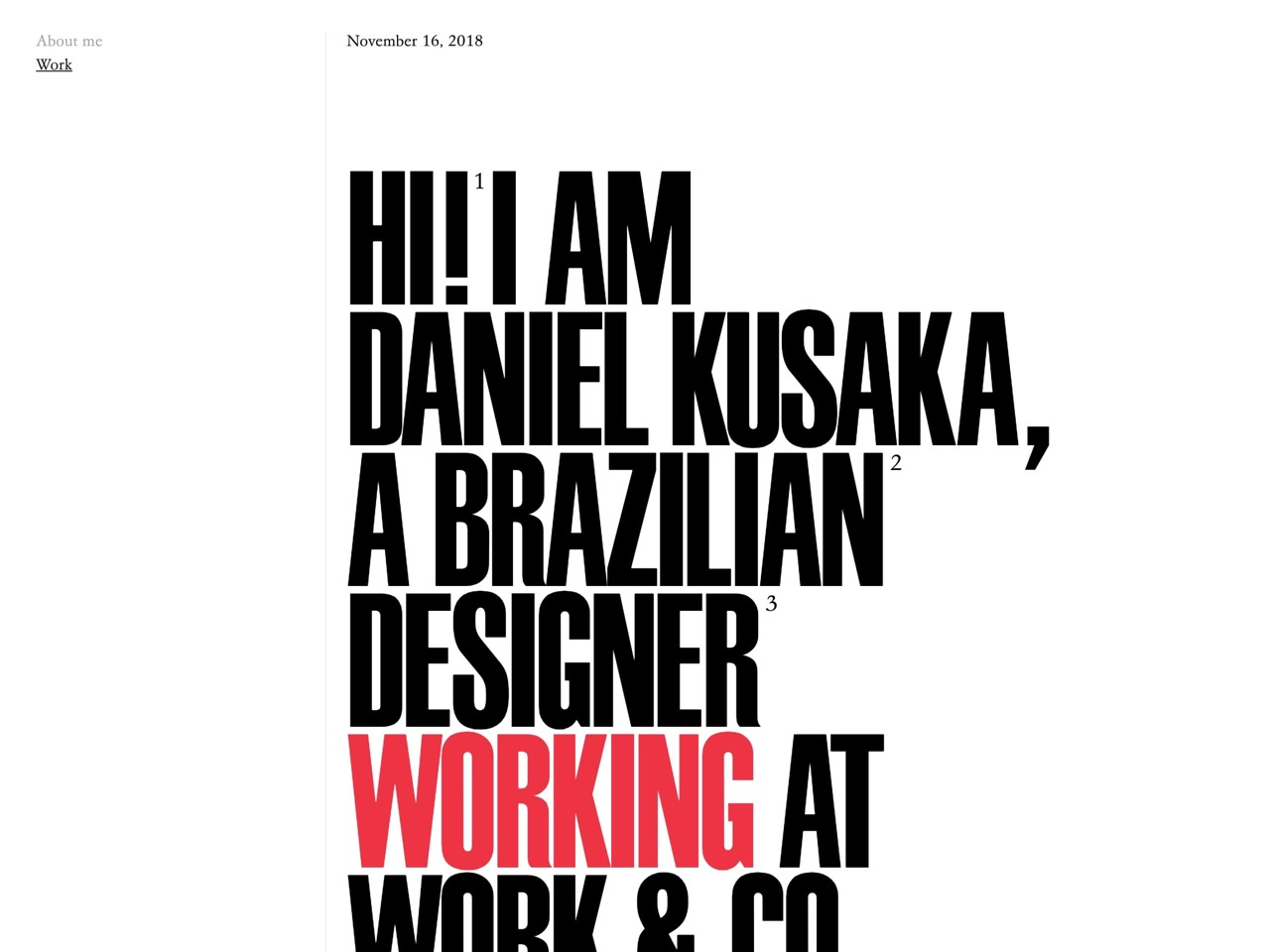 Daniel kusaka   designer at work   co