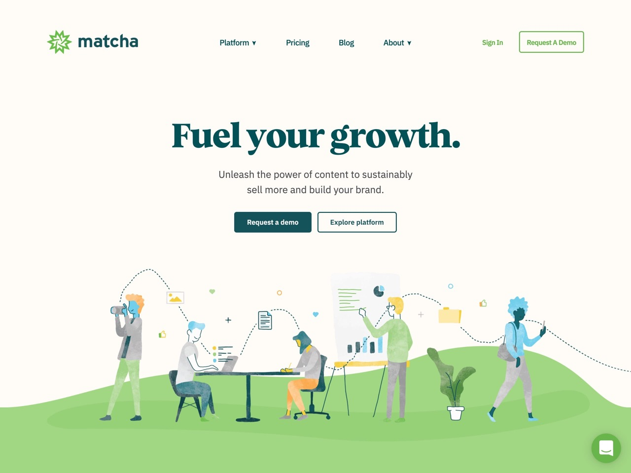 Matcha   turnkey content marketing solution for e commerce and d2c brands