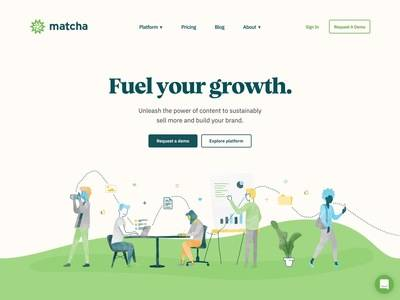 Thumb matcha   turnkey content marketing solution for e commerce and d2c brands