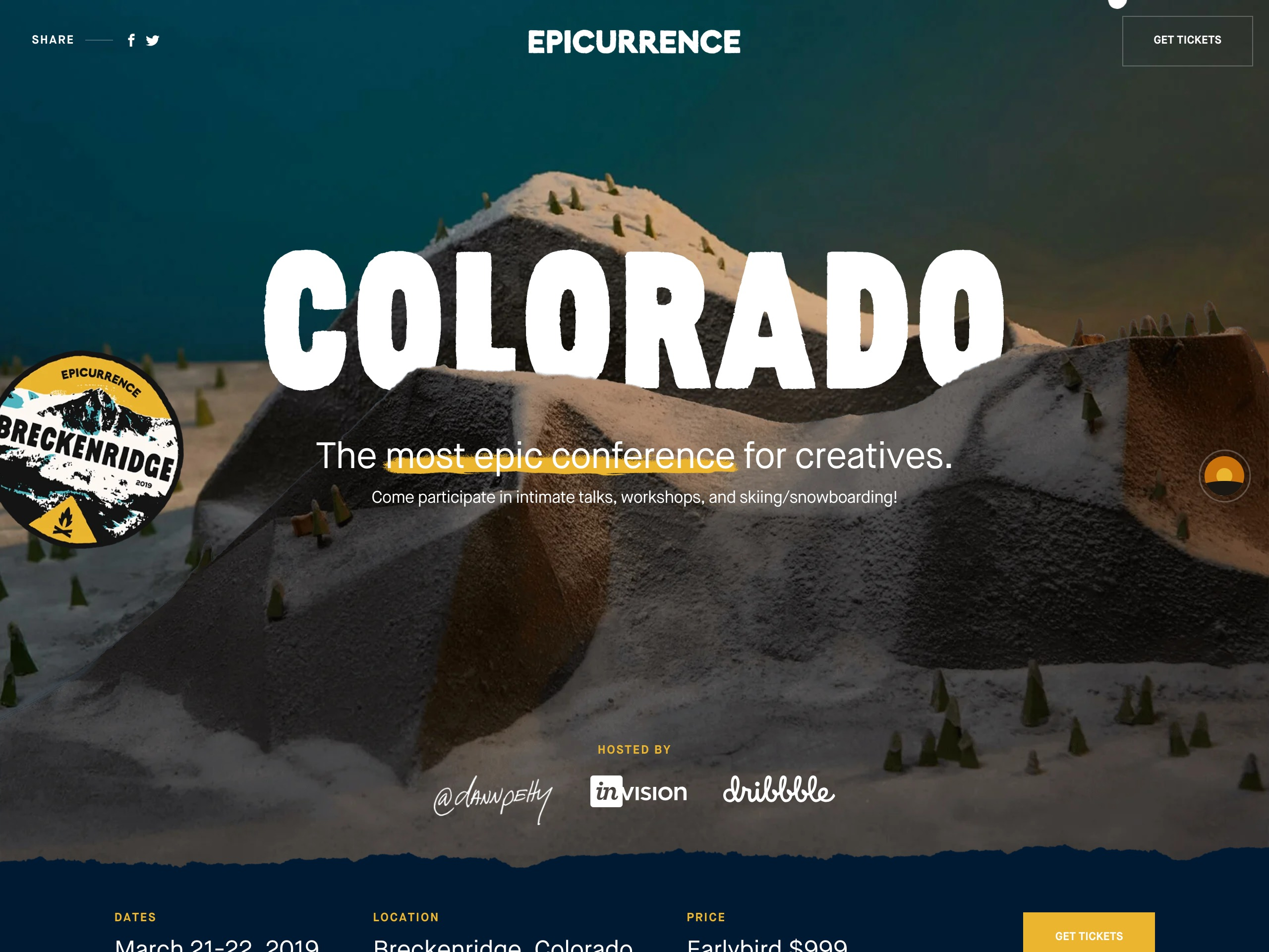 Epicurrence   breckenridge  colorado