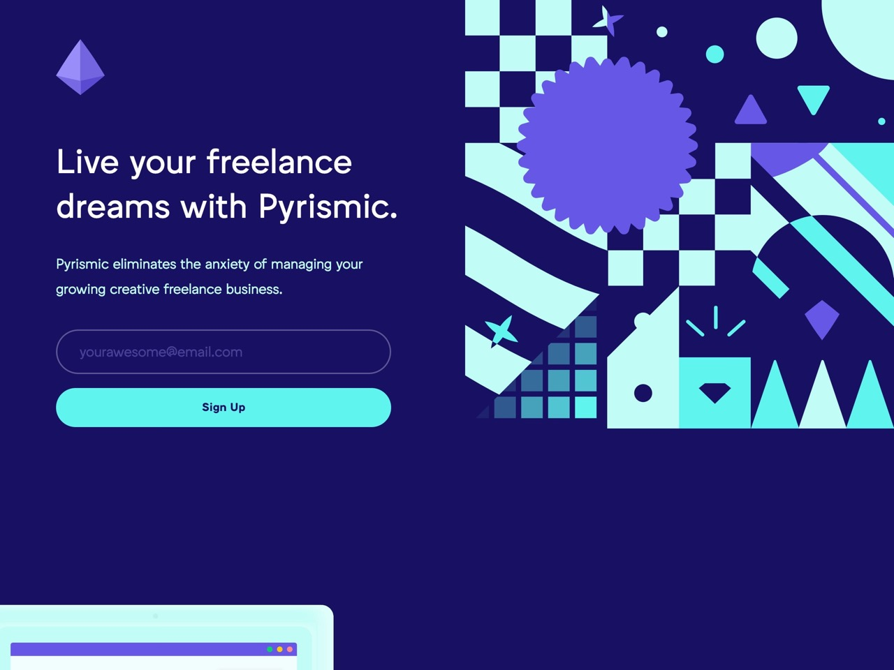 Pyrismic   live your freelance dreams