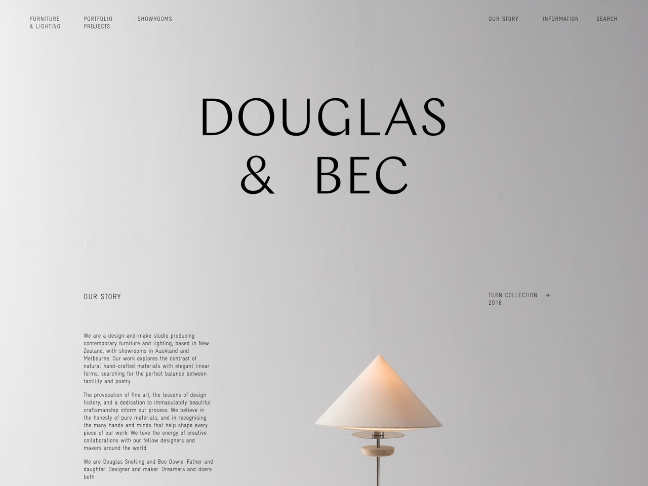 Furniture   lighting design   douglas and bec