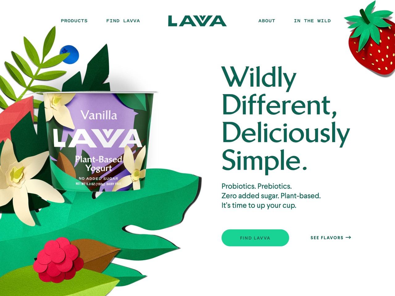 Lavva   dairy free yogurt   plant based yogurt with zero sugar