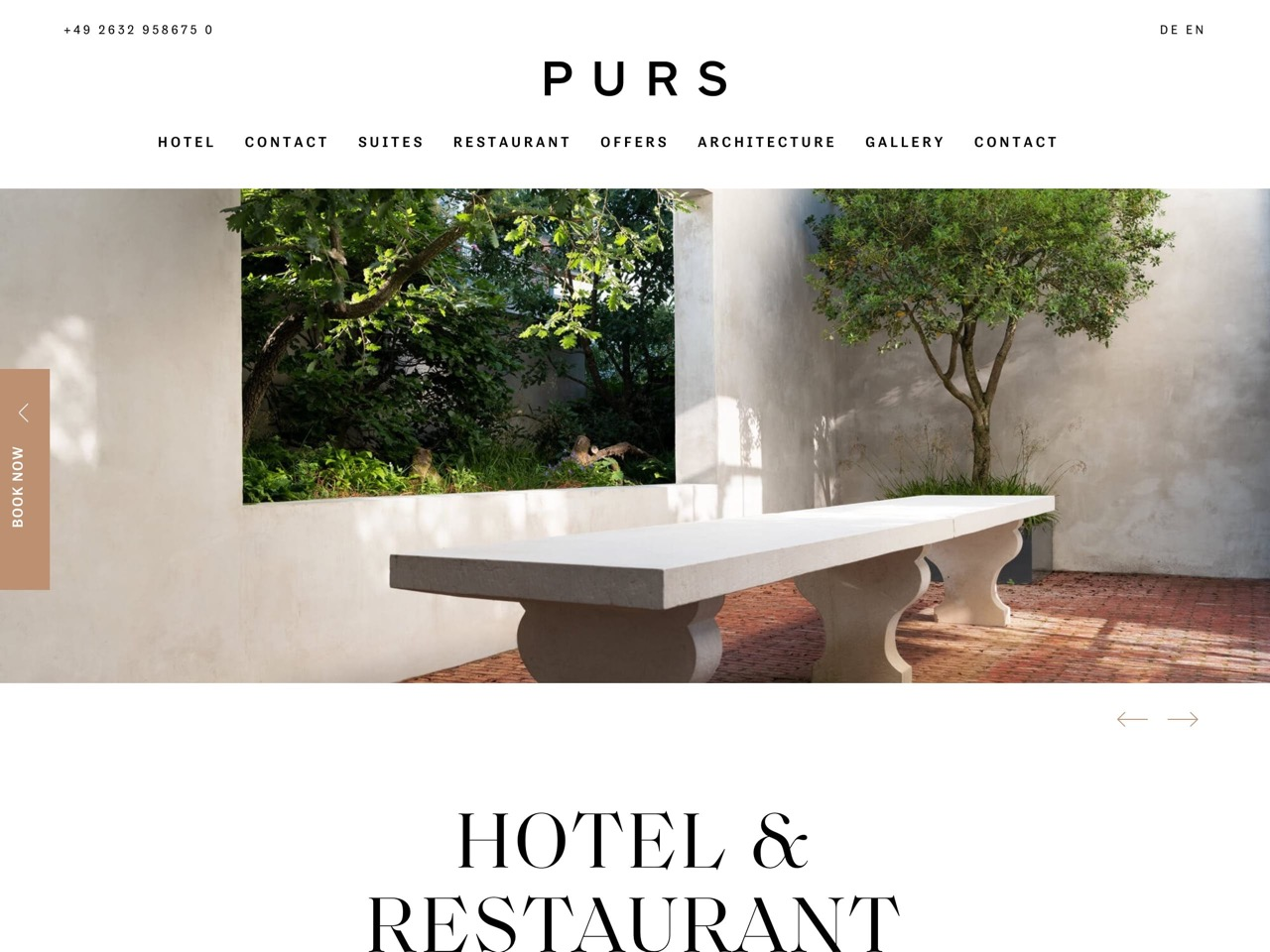 Purs   hotel and restaurant in andernach