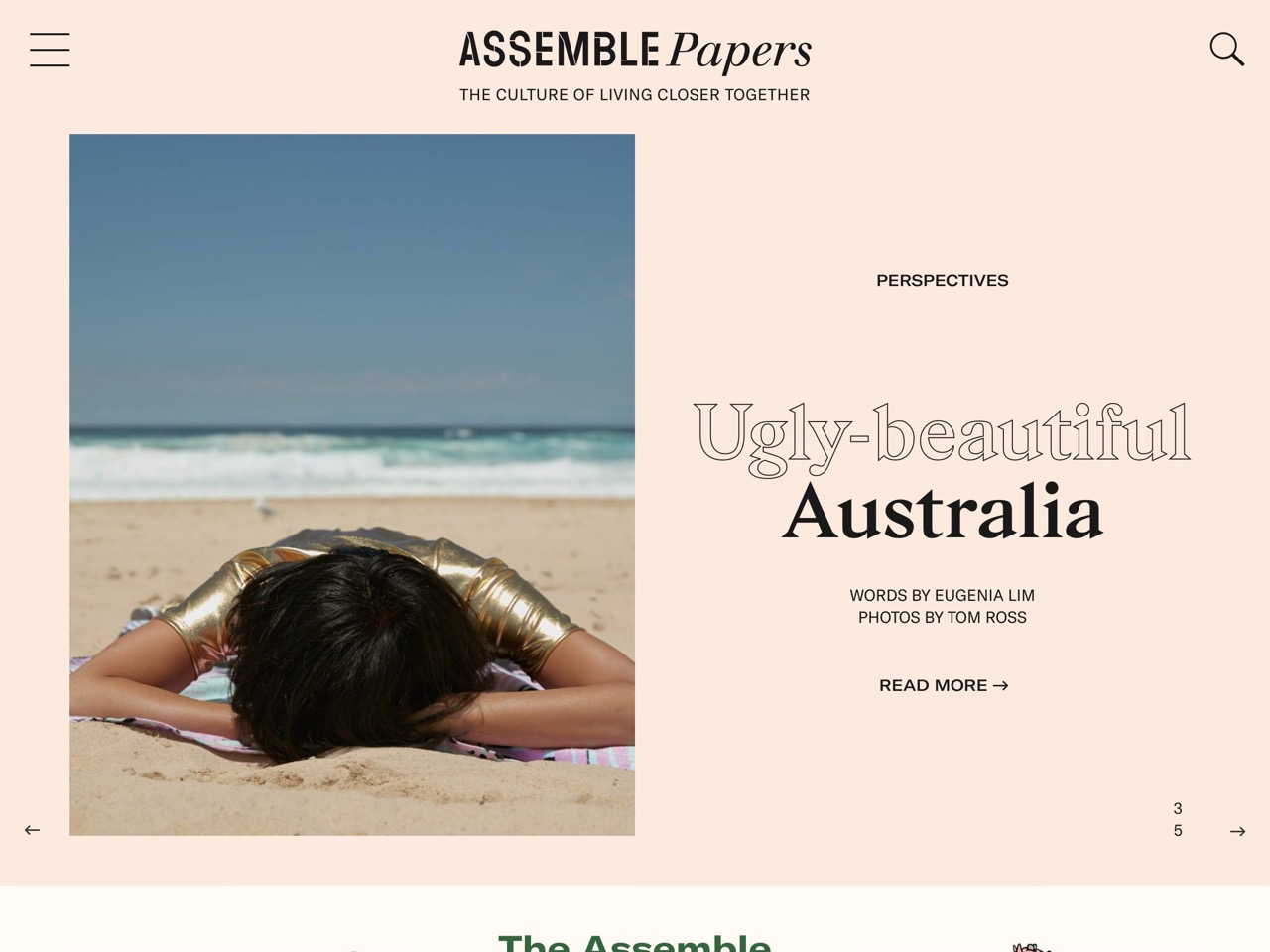 Assemble papers   the culture of living closer together