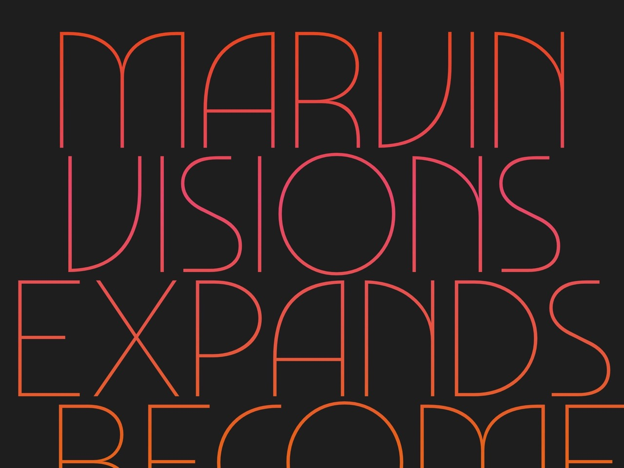 Marvin visions   an expressive variable font