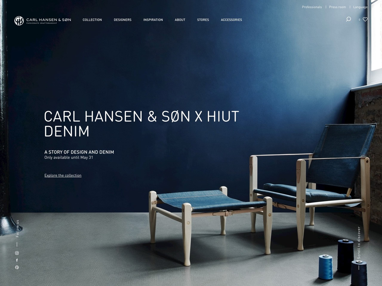 Danish design since 1908   carl hansen   s%c3%b8n