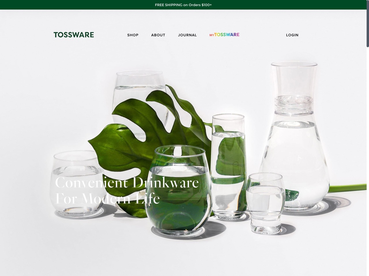 Tossware   elegant recyclable drinkware