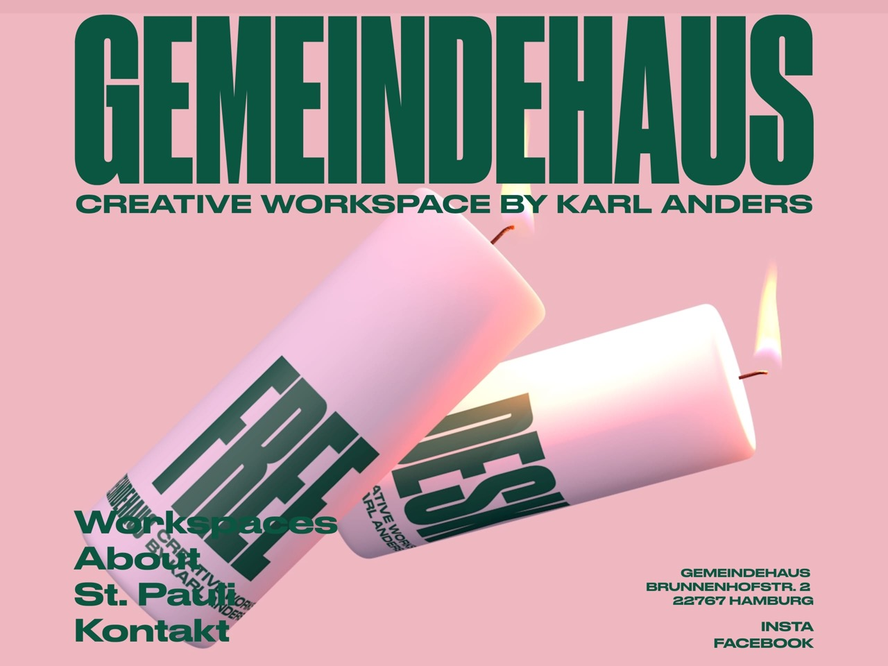 Gemeindehaus   creative workspace   home