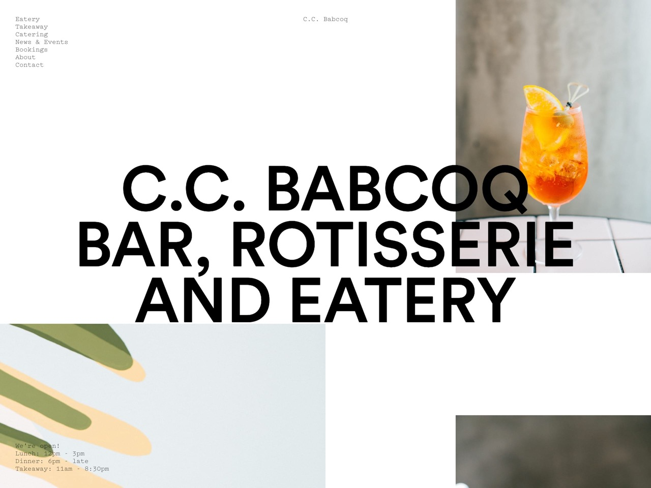 C c  babcoq   bar  rotisserie and eatery