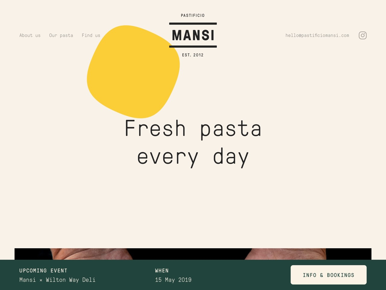 Mansi  fresh pasta producer in london