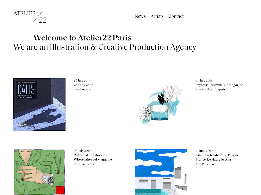 Atelier 22   welcome to atelier22 paris