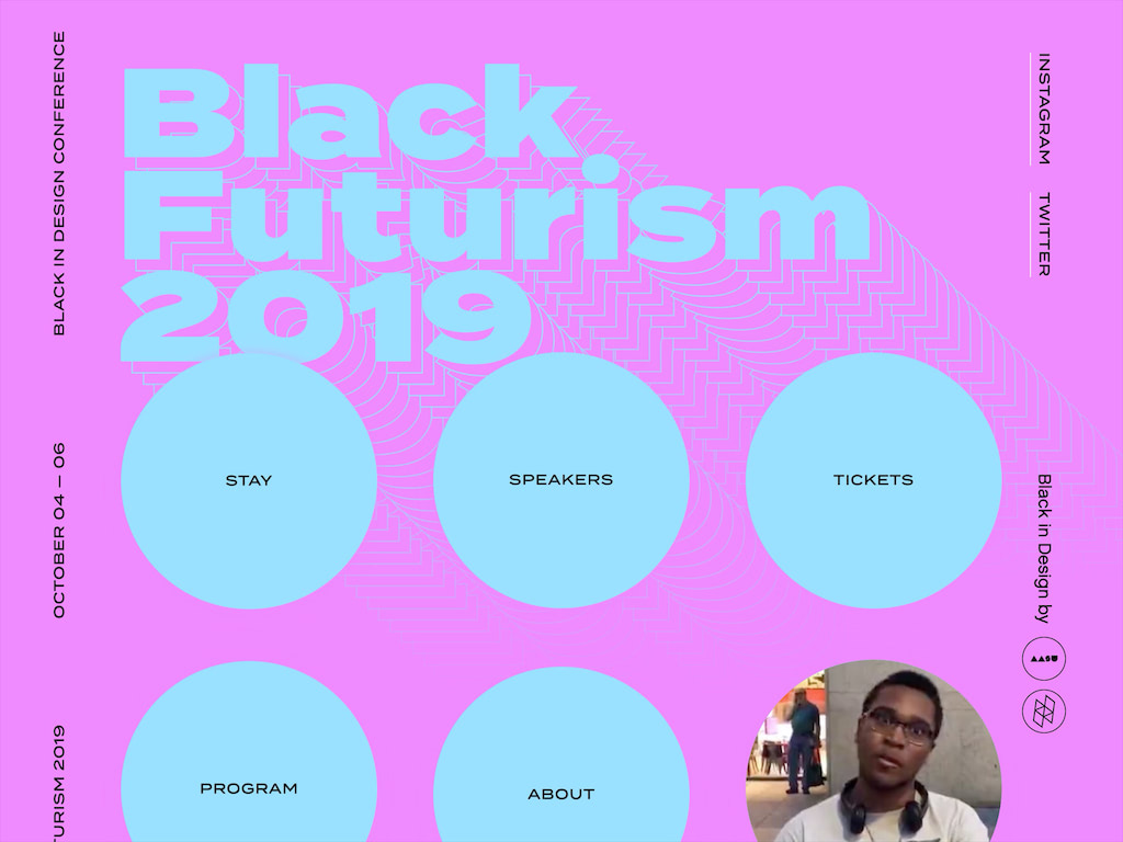 Black futurism 2019   black futurism 2019   black in design conference