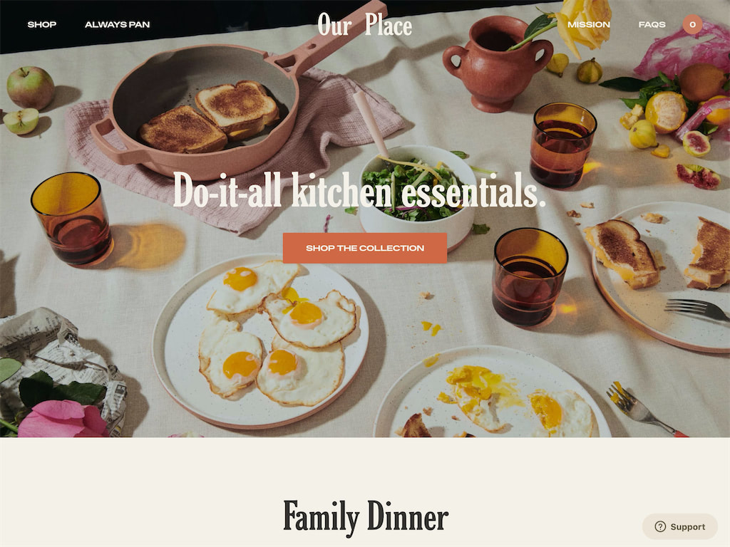Dinnerware   cookware for making traditions   kitchen essentials   our place