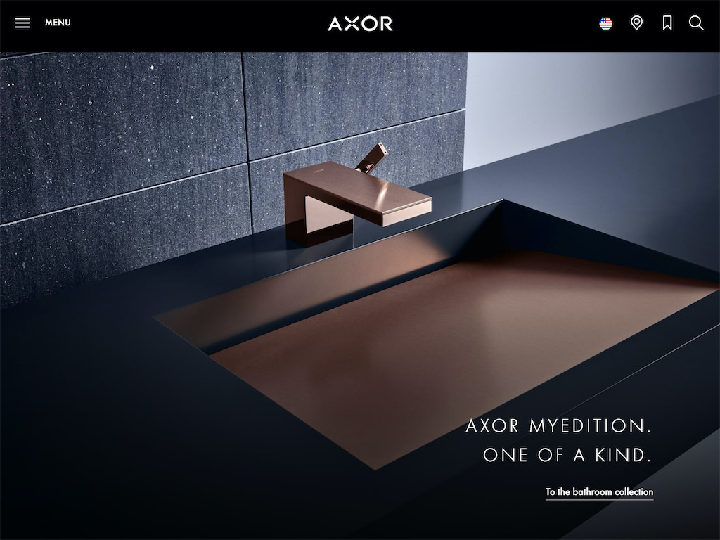Create a world of luxury for the kitchen and bath   axor