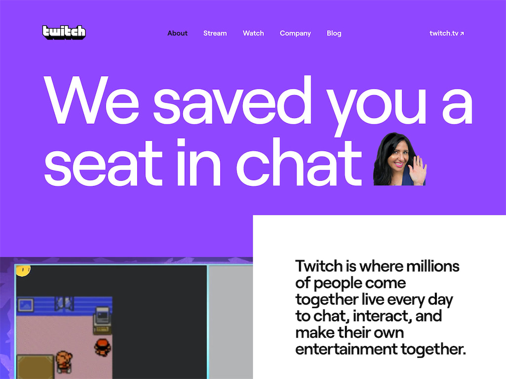 Twitch tv   about
