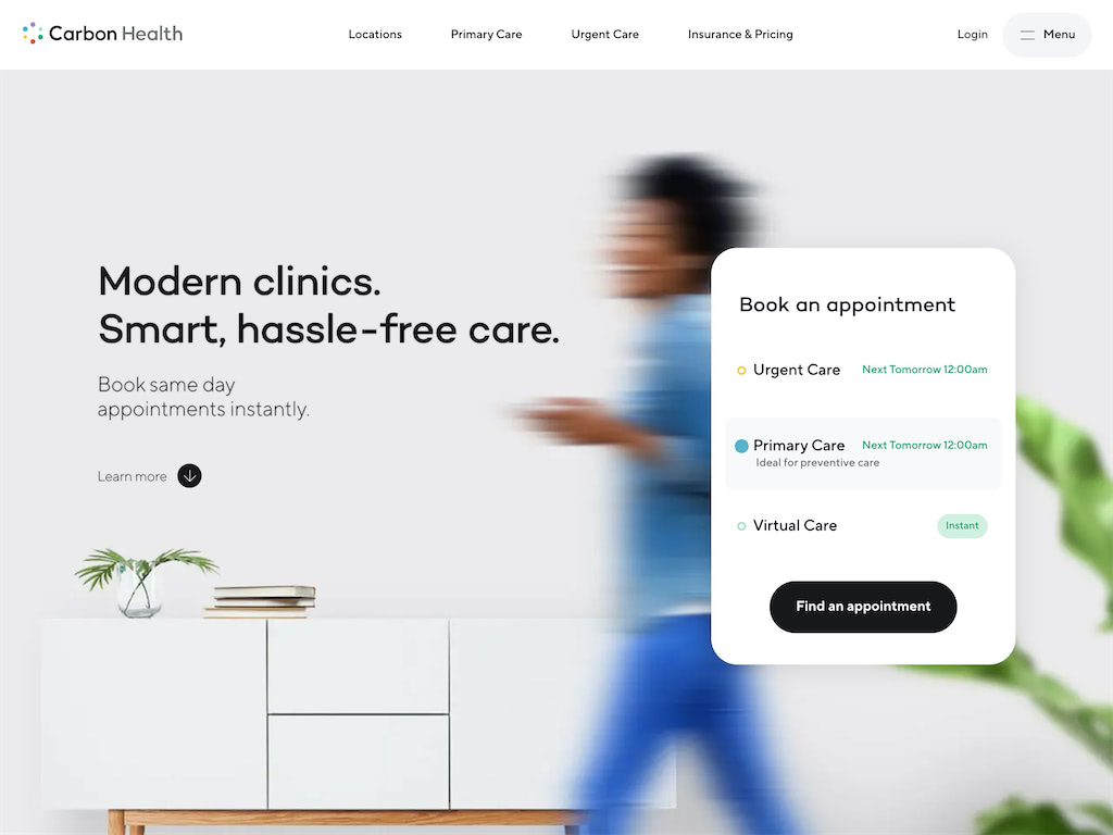Carbon health   modern primary   urgent care