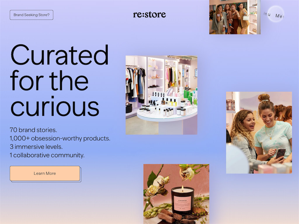 Re store   bringing best online brands from url to irl