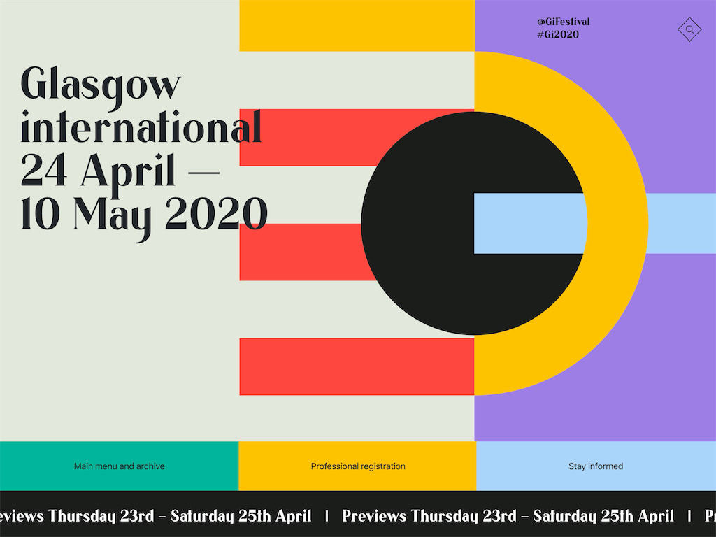 Home 2020   glasgow international