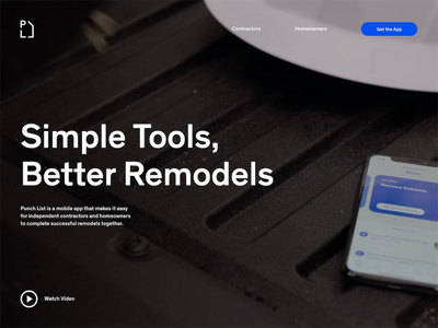 Thumb punch list   simple tools  better remodels