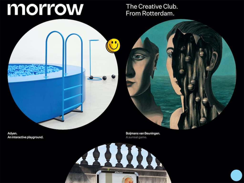 Morrow  the creative club from rotterdam