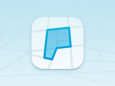 Thumb parkeergebied app icon by yummygum 2