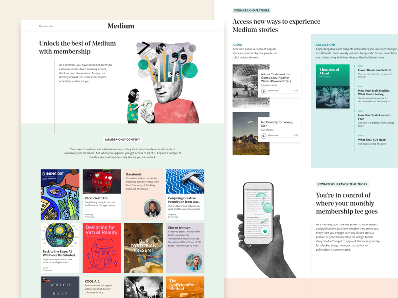 Mediumbenefits dribbble