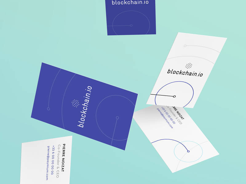Uijar blockchain business cards blockchain io business cards colourmoves