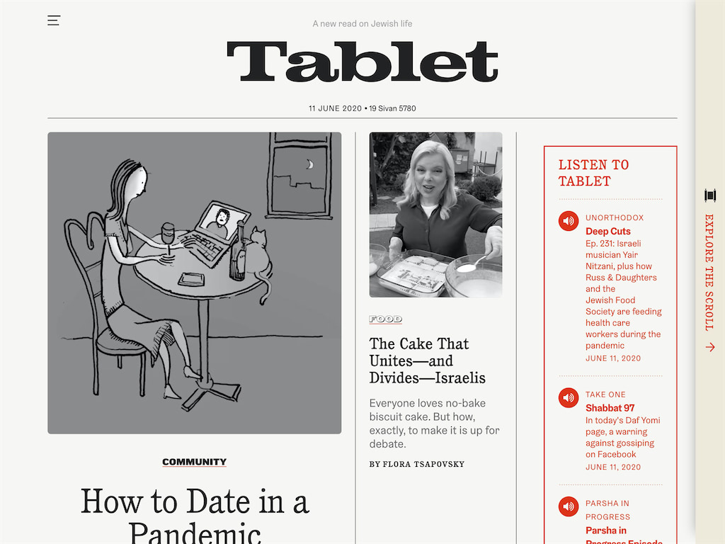 Tablet magazine a new read on jewish life