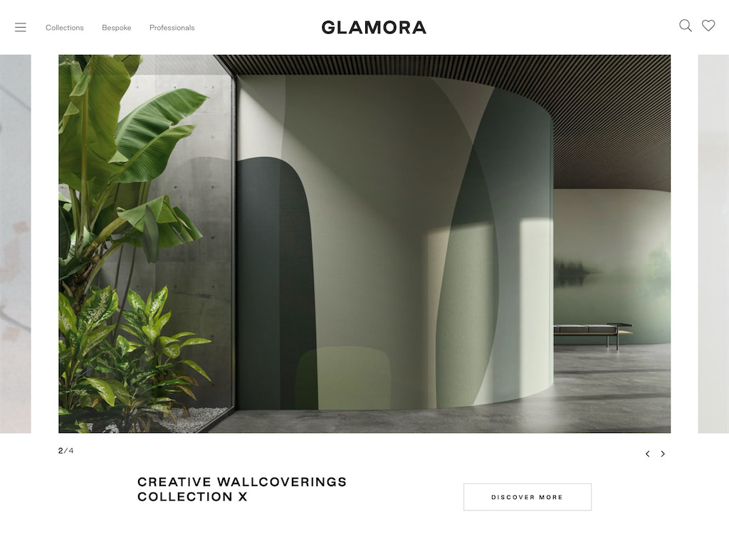Glamora bespoke design wallcoverings  1
