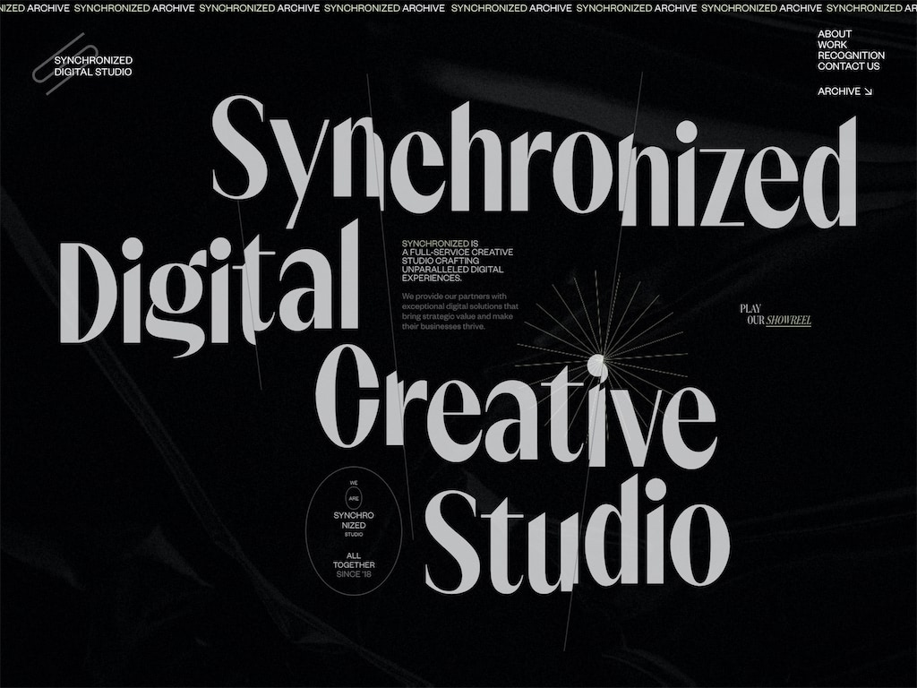 Synchronized digital creative studio