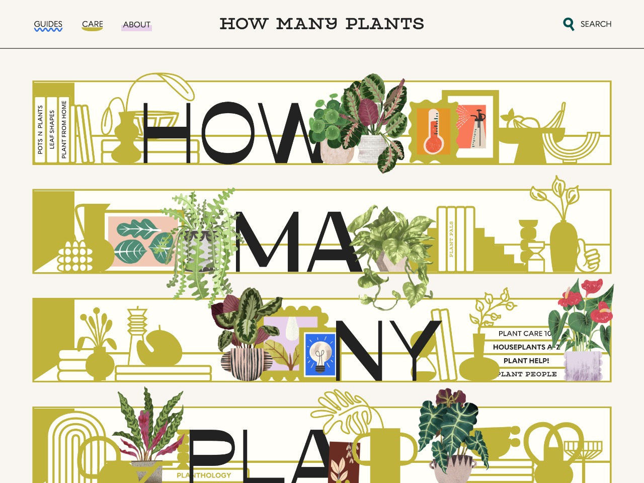 How many plants indoor and house plant resource
