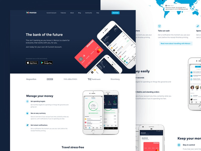 Thumb website dribbble