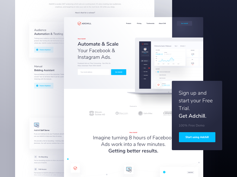 Adchill lp dribbble