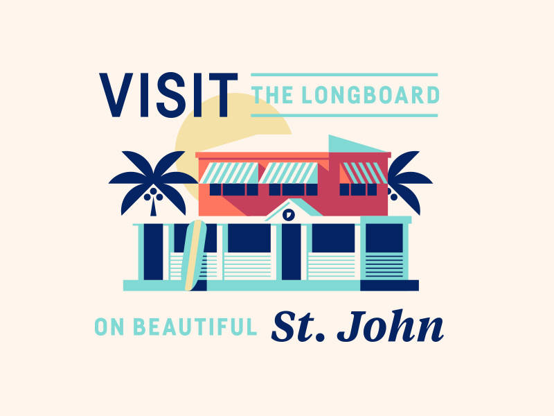 Longboard new building dribbble 2