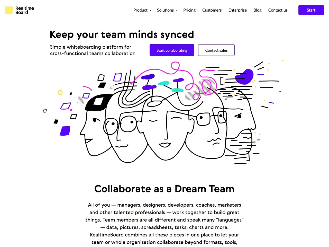 Online whiteboard platform for team collaboration   realtimeboard