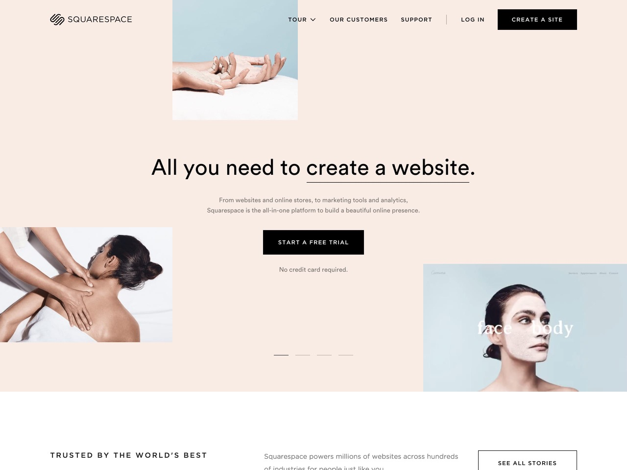 Build a website   website builder   squarespace