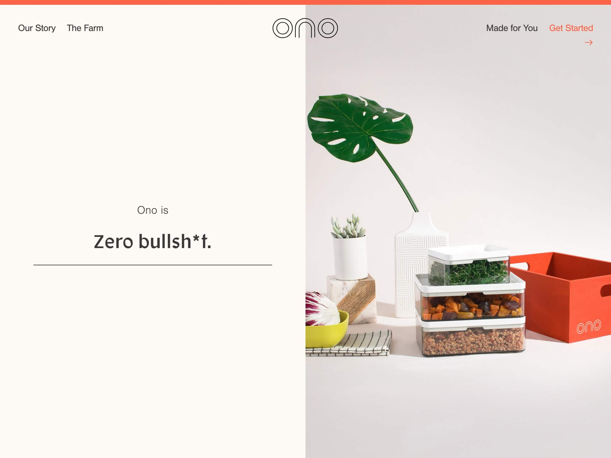 Ono   personalized nutrition for a better future