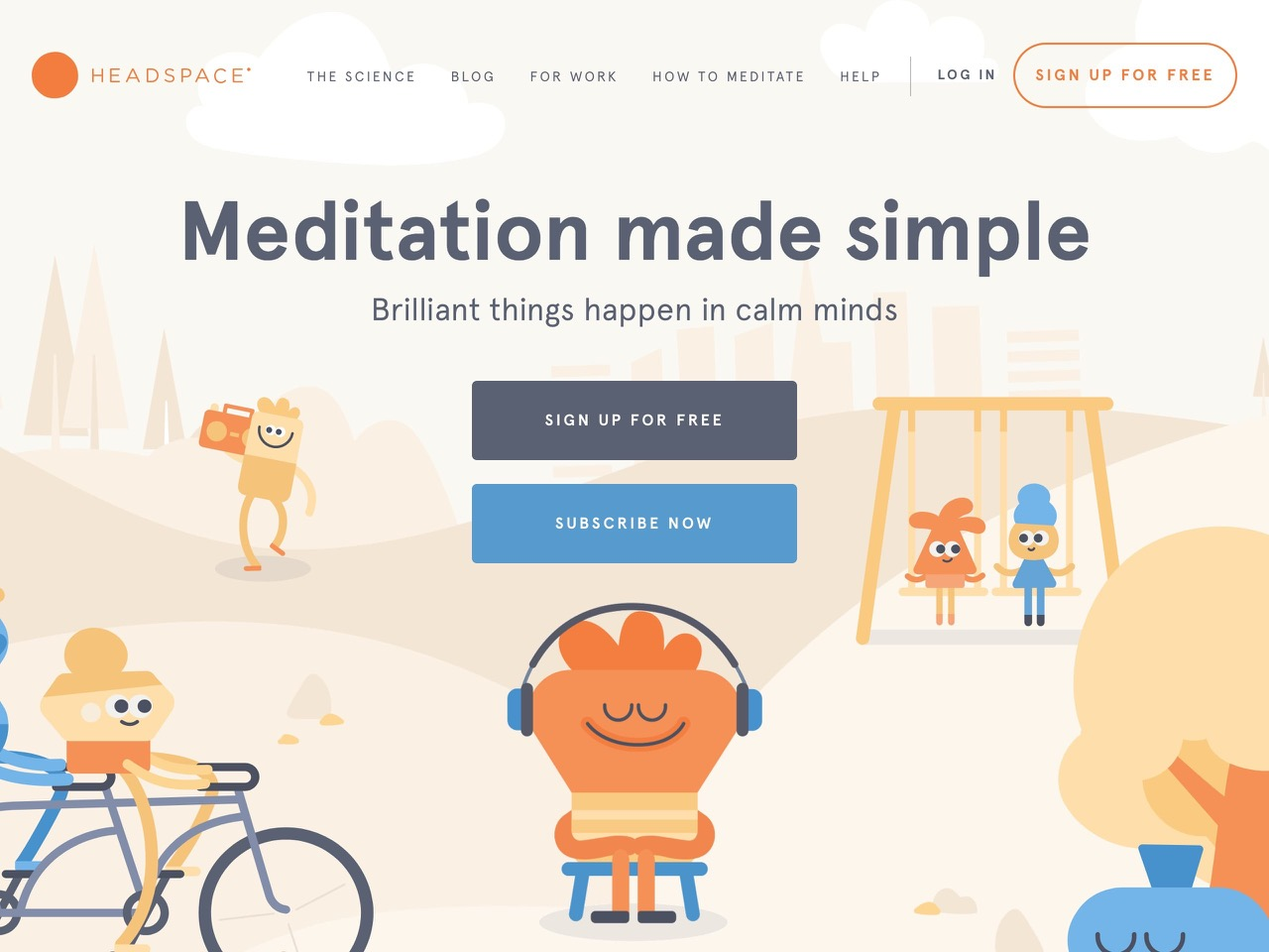 Meditation and mindfulness made simple   headspace
